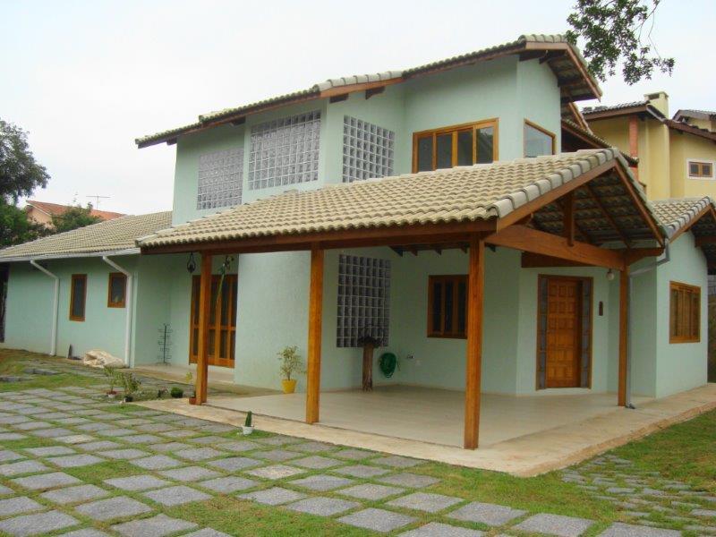 Construção de casas alvenaria e madeira