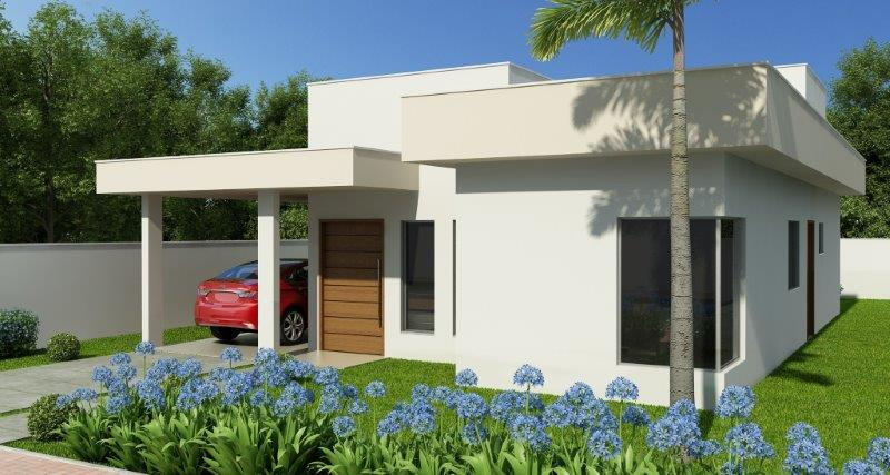 Projetos de casas de alvenaria estrutural